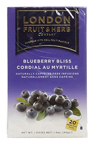 London Fruit & Herb Co Blueberry Bliss 20 Bags (Pack of 2)