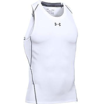 Under Armour UA HG Tank Camiseta sin Mangas, Hombre: Amazon.es: Deportes y aire libre