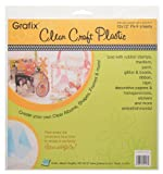 Grafix Clear Craft Plastic .020 Thickness 12-Inch