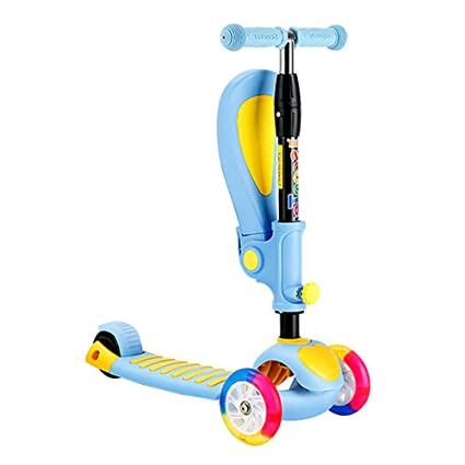 Patinetes clásicos Scooter para niños pequeños con Barra de ...