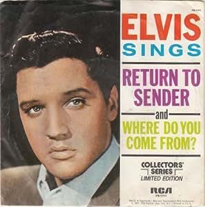 Elvis Presley - Elvis Presley - Return To Sender - RCA