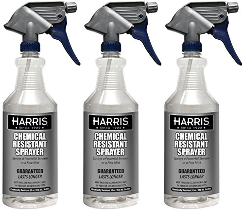 Harris 100% Chemically Resistant Professional Spray Bottles, 32oz (Professional Spray Bottle)
