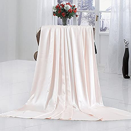 Pure Silk Quilt Cover Single Piece Thickened Double Sided Pure Silk Quilt M 220x240cm 87x94inch
