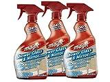 Magic Shower Glass & Mirror Cleaner Trigger, 28 fl oz (Pack of 3)