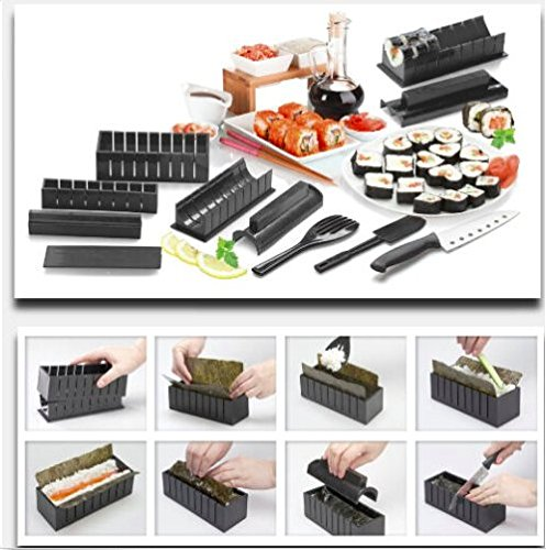 10-pc. Sushi Chef Sushi-Making Kit