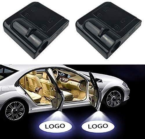2pcs Wireless Led Car Door Light Courtesy Logo Ghost Shadow Lamp For All models Projector Light Size : Logo for Skoda
