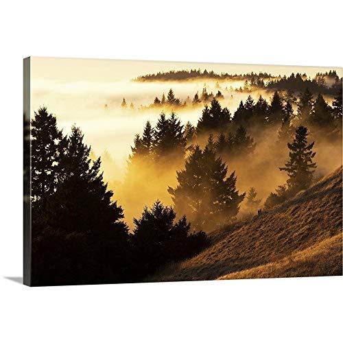 Marin Bolinas Ridge - GREATBIGCANVAS Gallery-Wrapped Canvas Entitled Bolinas Ridge by 36