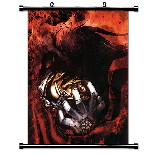 Hellsing Poster - Hellsing Anime Fabric Wall Scroll Poster (32