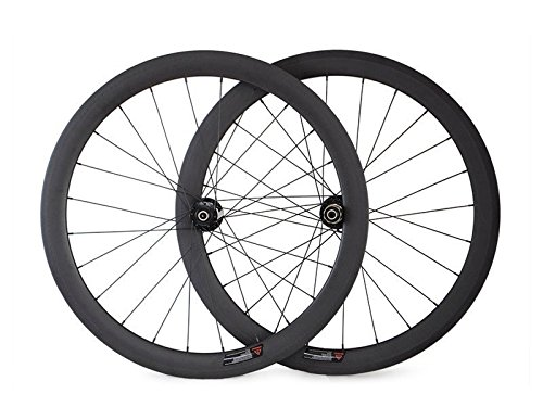 Hulk-sports 700c Disc Brake Road Bike Wheel Set Carbon Clincher Shiman& Campy 11 Speed System 3K Glossy wheelset