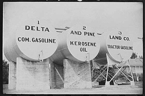 Photo  Tanks Of Gas Oil For Delta Pine Company Scott Mississippi Delta Mississippi