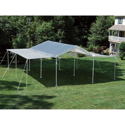 ShelterLogic 2-in-1 MaxAP Outdoor Canopy Tent - 20ft.L x 10ft.W, Model Number 25715