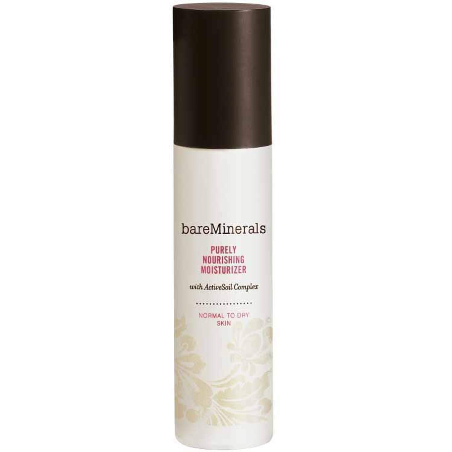 bareMinerals Purely Nourishing Moisturizer For Normal To Dry Skin, 1.7 Ounce