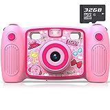 Best Kids Cameras - AKAMATE Kids Selfie Camera, 1080P 12MP Kids Digital Review