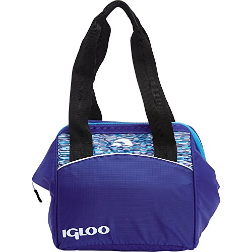 Igloo 59982 Stowe 9 Leftover Cooler Tote, Blue