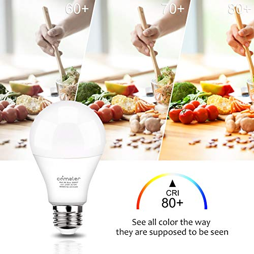 Sensor Light Bulbs Dusk to Dawn LED Light Bulb 9W E26 Automatic On/Off Smart Bulbs Security Lights Outdoor/Indoor for Porch Garage Garden Patio(Warm White 2 Pack)