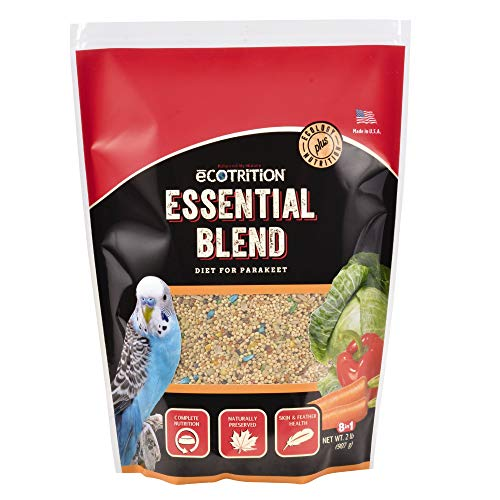 - eCOTRITION Essential Blend Diet for Parakeets, 3