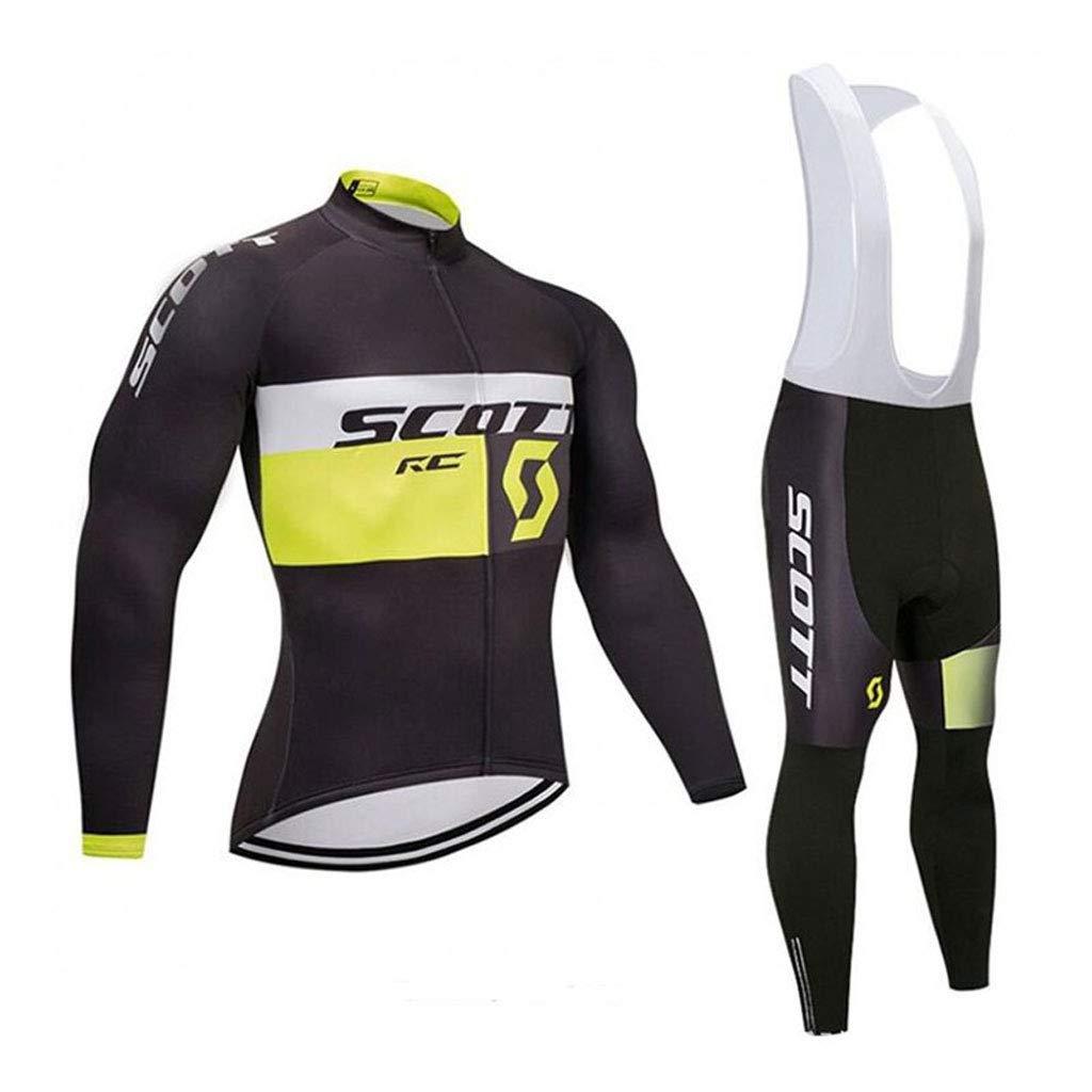 Xiaoping Fahrradbekleidung langärmelige Hose Jersey Sportanzug Fahrrad Mountainbike Bekleidung Atmungsaktiv
