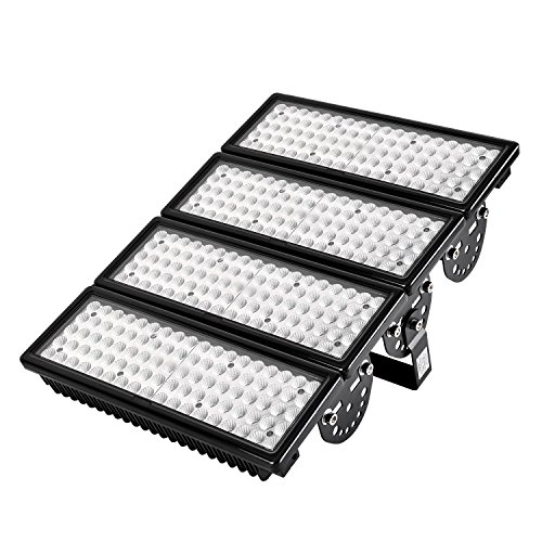 LED Flood Light, Getseason,400W,40000 Lumen,Cold White(6000K),IP65 Waterproof Security Light,60° Beam Angle Super Bright Spotlight Lamp Can be Assembled for Garage,Garden,Yard,Parking Lot