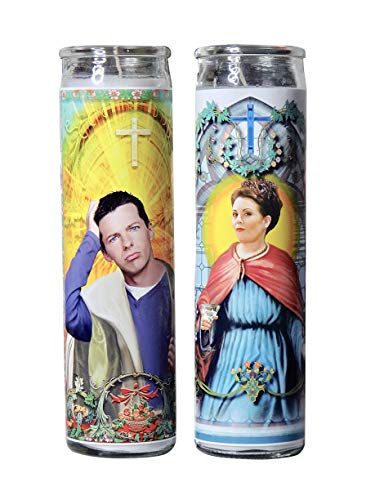 My Pen15 Club Karen and Jack Celebrity Prayer Candle - Will and Grace