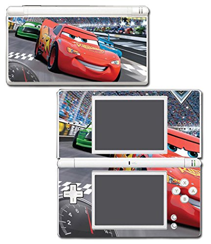 Cars Lightning McQueen Sally Racing Movie Video Game Vinyl Decal Skin Sticker Cover for Nintendo DS Lite System (Stickers Ds Nintendo Lite)