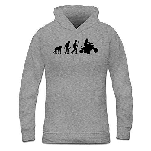 Sudadera con capucha de mujer Quad Evolution by Shirtcity Gris granulado