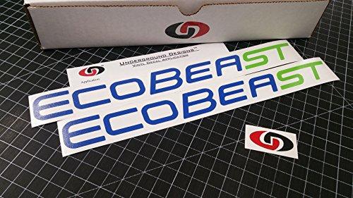 UNDERGROUND DESIGNS ECOBEAST ST Decal Ecoboost Vinyl Stickers 12