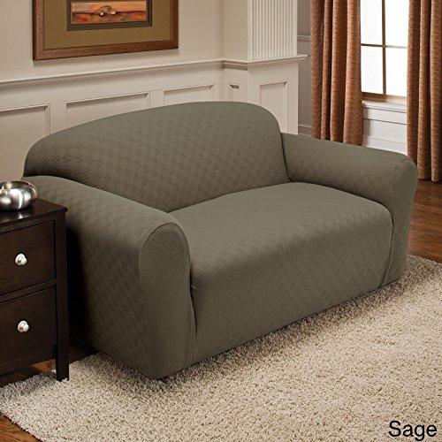 Stretch Sensations Newport Sofa Stretch Slipcover, Sage