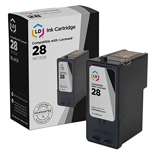 Remanufactured Lexmark #28 / 18C1528 Black Ink Cartridge