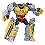 Transformers Toys Cyberverse Action Attackers Ultimate Class Grimlock Action Figure - Repeatable Seismic Stomp Action Attack - for Kids Ages 6 & Up, 11.5'