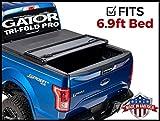 Gator Pro Tri-Fold (fits) 2017-2019 Ford Super Duty F250 F350 6.9 FT Bed