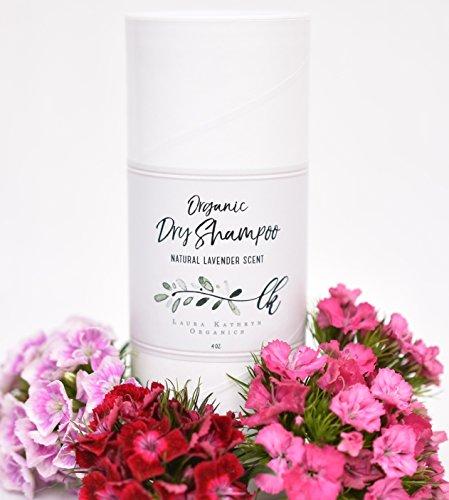Organic Dry Shampoo (4 oz. Bottle! Twice the Size of Most!) Non-Aerosol, Vegan, Cruelty-Free, Non-Toxic, Eco-Friendly – (Light Lavender Scent)