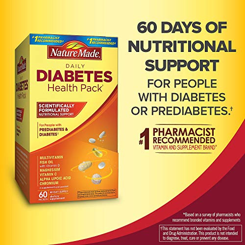 Nature Made Daily Diabetes Health Pack -