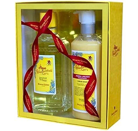 Alvarez Gómez - Estuche de Navidad Clásico para Regalo - Agua Colonia Concentrada (300ml) + Jabón líquido (300ml): Amazon.es: Belleza