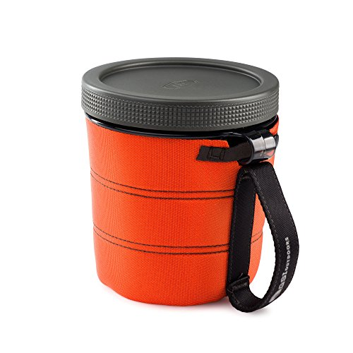GSI Outdoors - Fairshare Mug II, Orange, Superior Backcountry Cookware Since 1985