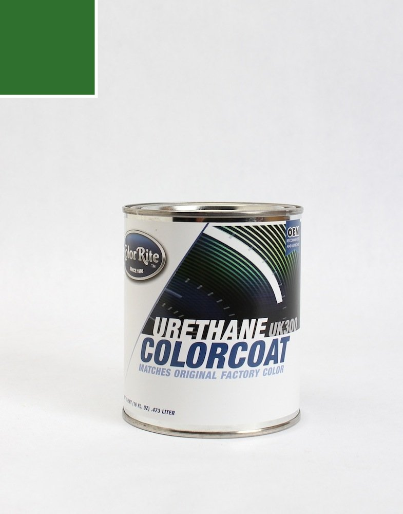 ColorRite Pint Land-Rover Range Rover Automotive Touch-up Paint - Epsom Green Metallic Clearcoat LRC961/HAF - Color-Only Package