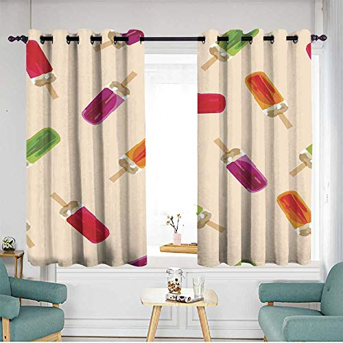 home1love Simple Curtains W 72