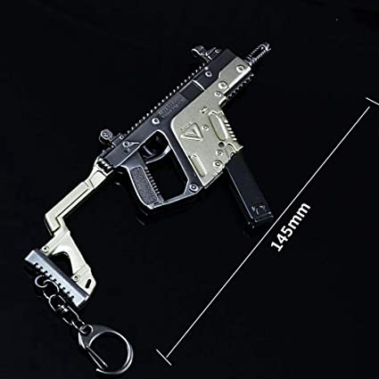 Amazon com: Mini Games Prop 1/6 Metal Vector Submachine Gun Model