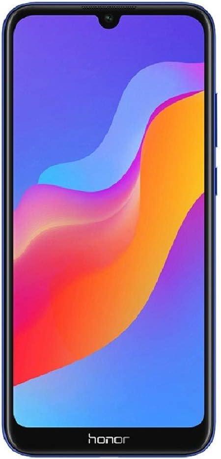 "Honor 8A (32GB) 6.09"" HD+ Display, Dual SIM 4G LTE GSM Factory Unlocked Smartphone - International Version, No Warranty JAT-LX3 (Blue)"