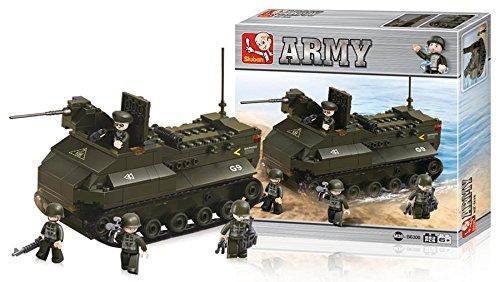 Bausteine Army Serie Panzerfahrzeug, Spielzeug & Gadgets Sluban ist der Markenname (973977008962)