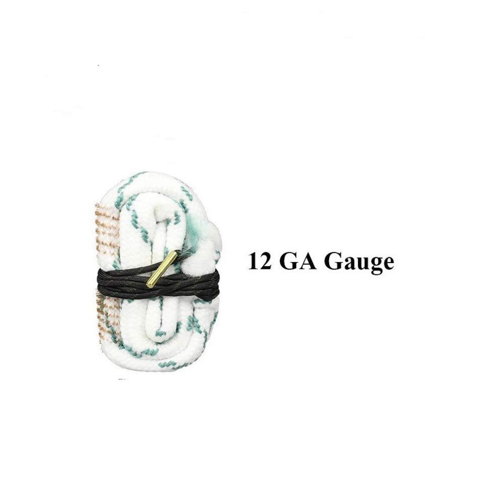 PRETTYGAGA Bore Cleaner Snake Rifle Shotgun Gun Cleaning Kit for 12 GA Gauge by PRETTYGAGA