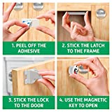 Safety Baby Cabinet Locks - Child Safety Magnetic