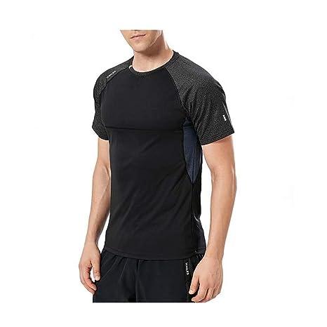 LSTX Ropa De Secado Rápido Camisa De Hombre Night Running ...