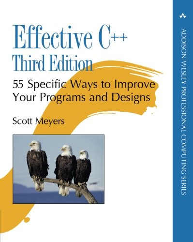 Effective C++: 55 Specific Ways to Improve Your Programs and Designs (3rd Edition) by Meyers, Scott