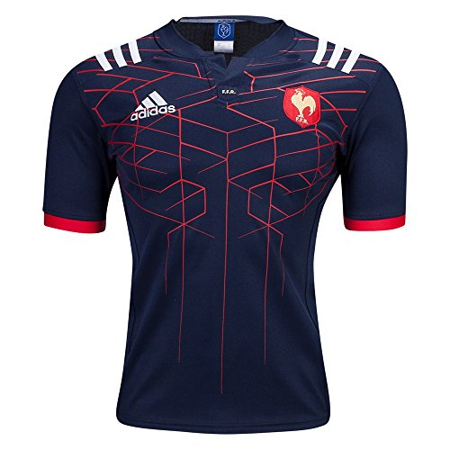 Jersey Home Rugby (Adidas France 16/17 Home Rugby Jersey (Medium))