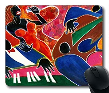 amazon co jp gaming mouse pad abstract painting personalized