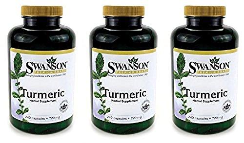 Swanson Premium Turmeric Powder Capsules