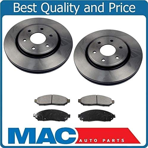 2005-2012 Pathfinder Front + Rear Rotors w//Ceramic Pads OE Brakes Fits