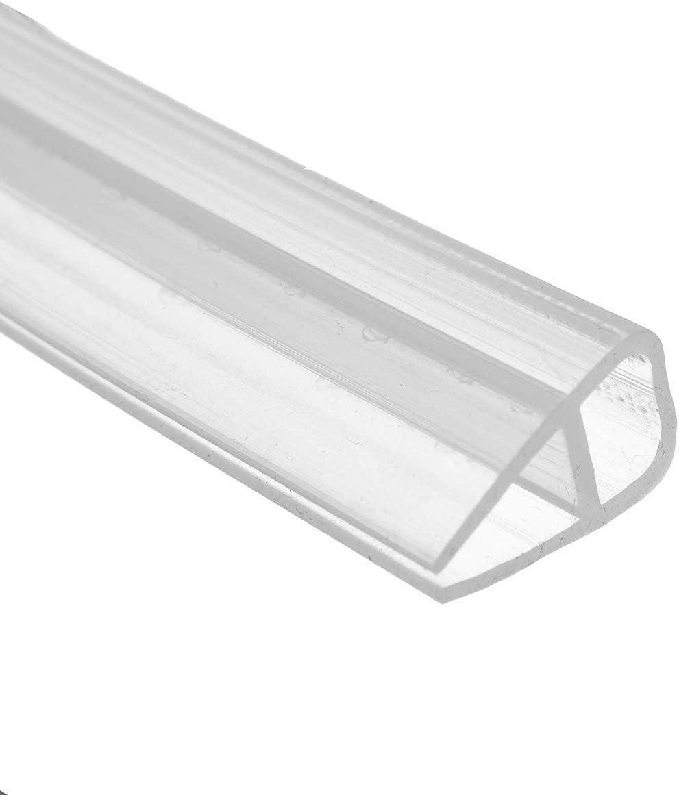 200 cm U Shape puerta de ducha Junta de ducha repelente de agua ducha cristal puerta para 6 mm/8 mm/10 mm/12 mm grosor de cristal: Amazon.es: Bricolaje y herramientas