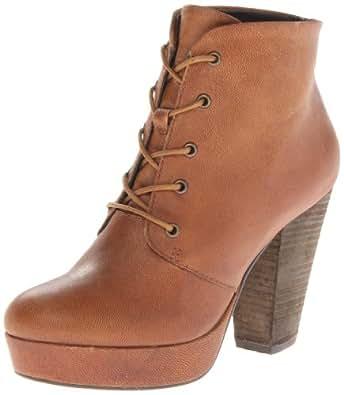 Steve Madden Women's Raspy Boot,Cognac Leather,6.5 M US