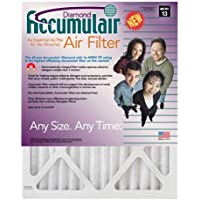 20x34x1 (19.5 x 33.5) Accumulair Diamond 1-Inch Filter (MERV 13) (4 Pack)